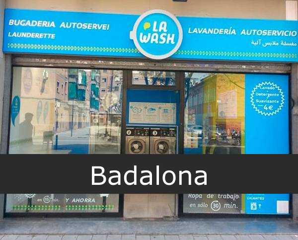 Lavandería La Wash Badalona