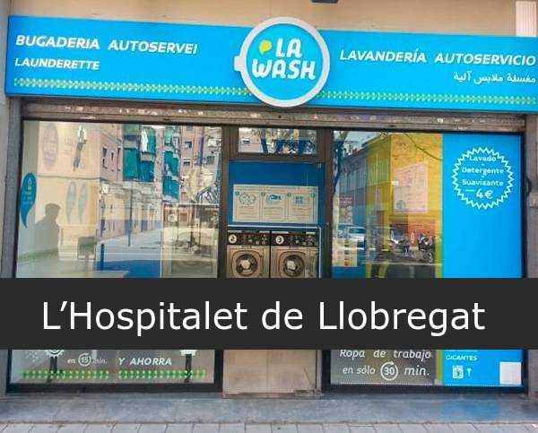 Lavandería La Wash L'Hospitalet de Llobregat