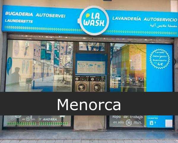 Lavandería La Wash Menorca