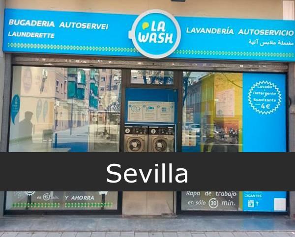 Lavandería La Wash Sevilla