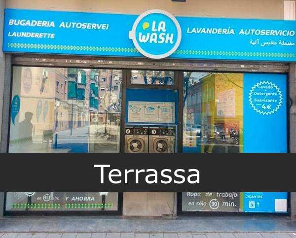 Lavandería la wash Terrassa
