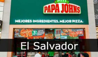Papa Jhons El Salvador