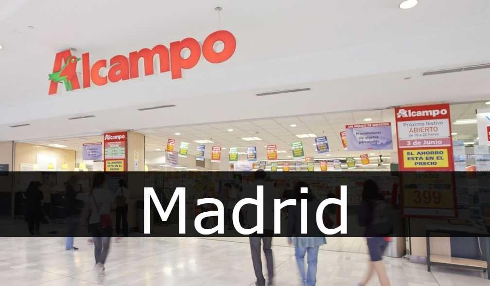 alcampo Madrid