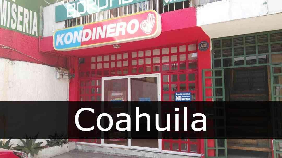 Kondinero Coahuila