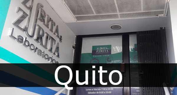 Laboratorios Zurita Quito