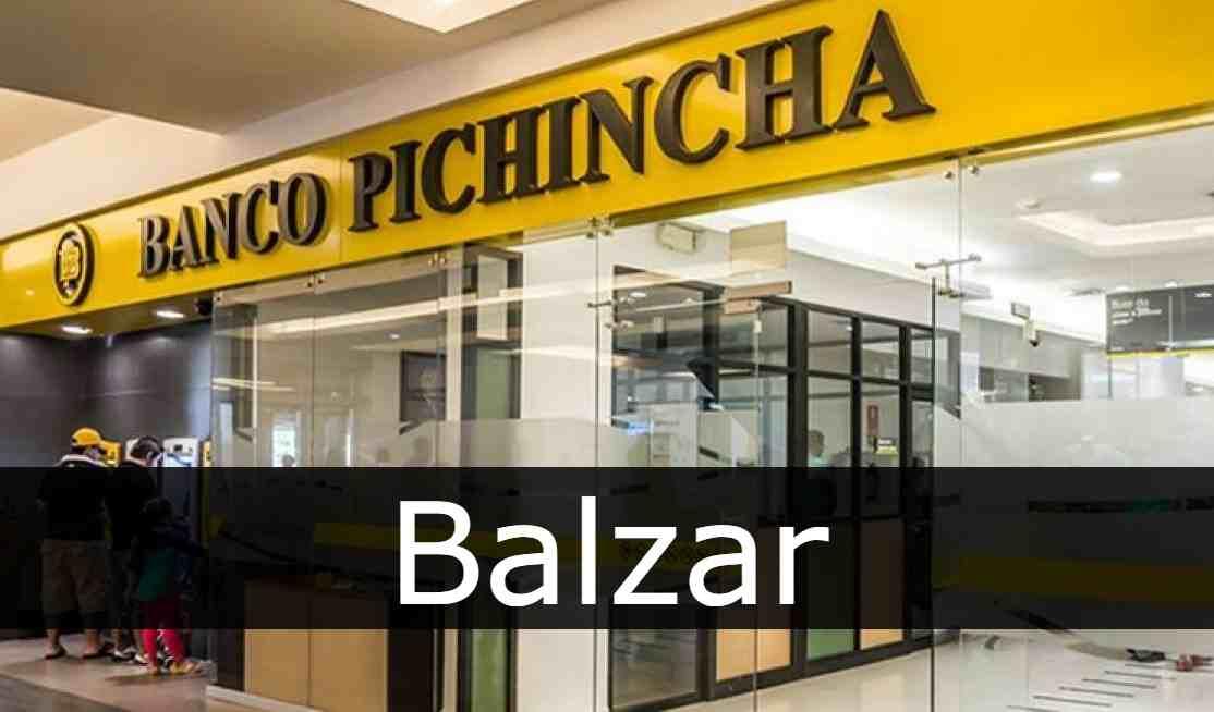banco pichincha Balzar