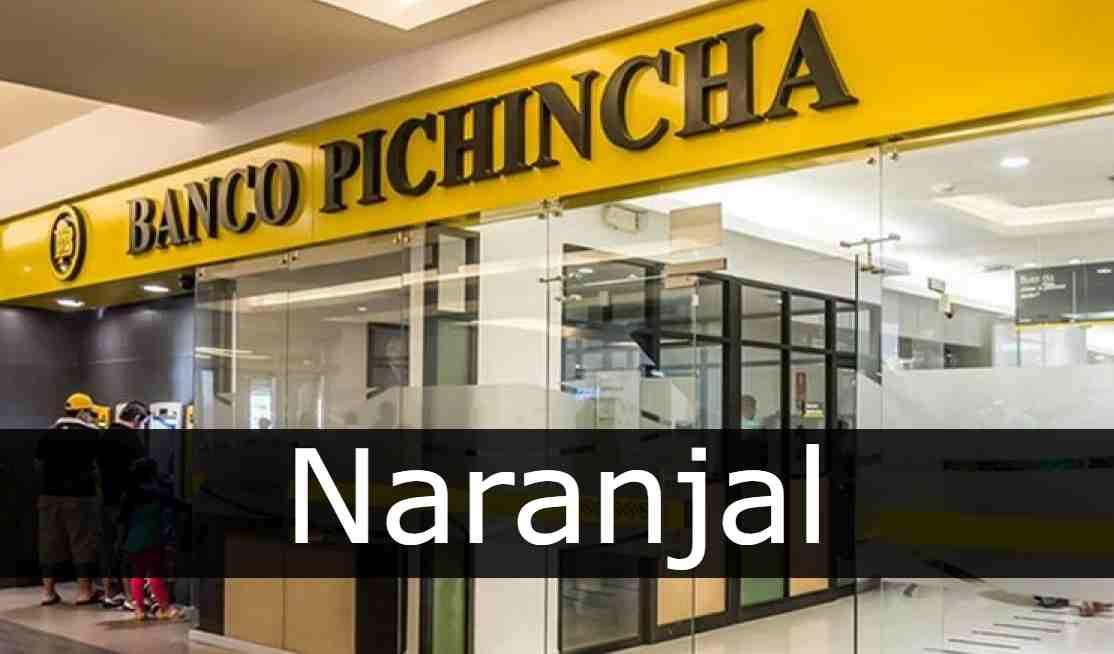banco pichincha Naranjal