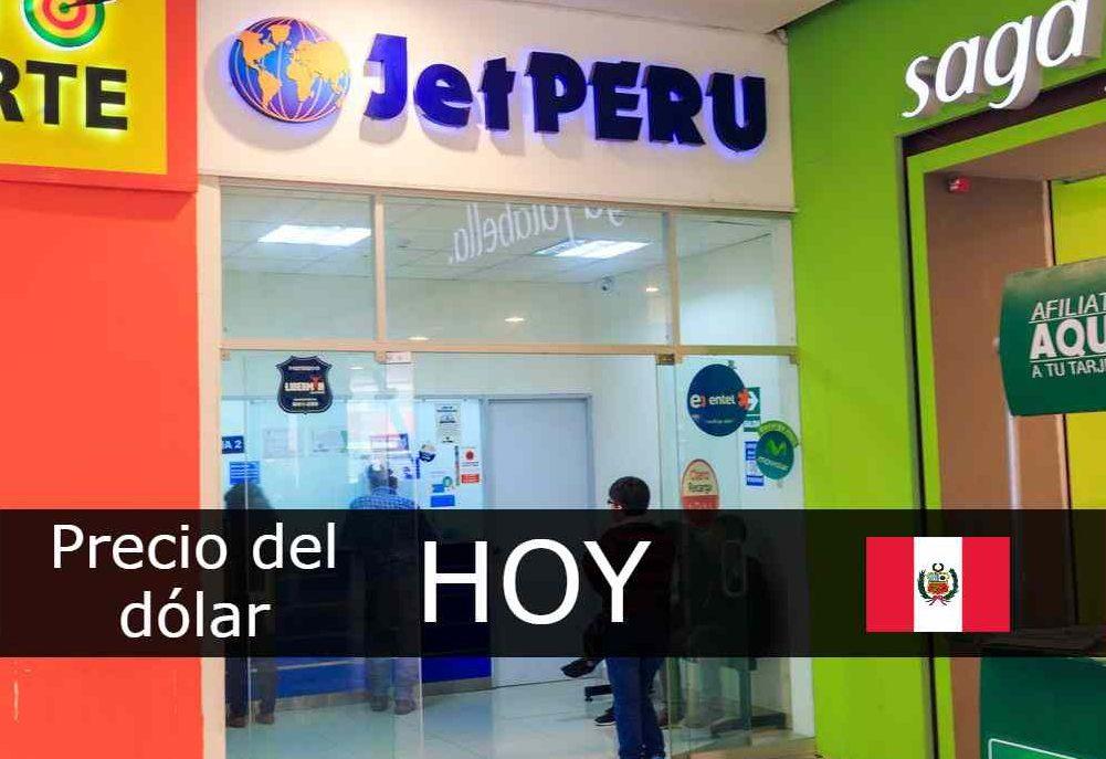 dólar hoy jet Perú