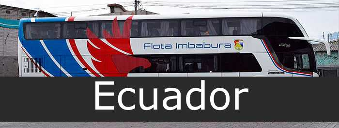flota imbabura Ecuador