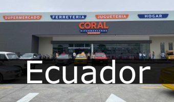 hipermercados coral Ecuador