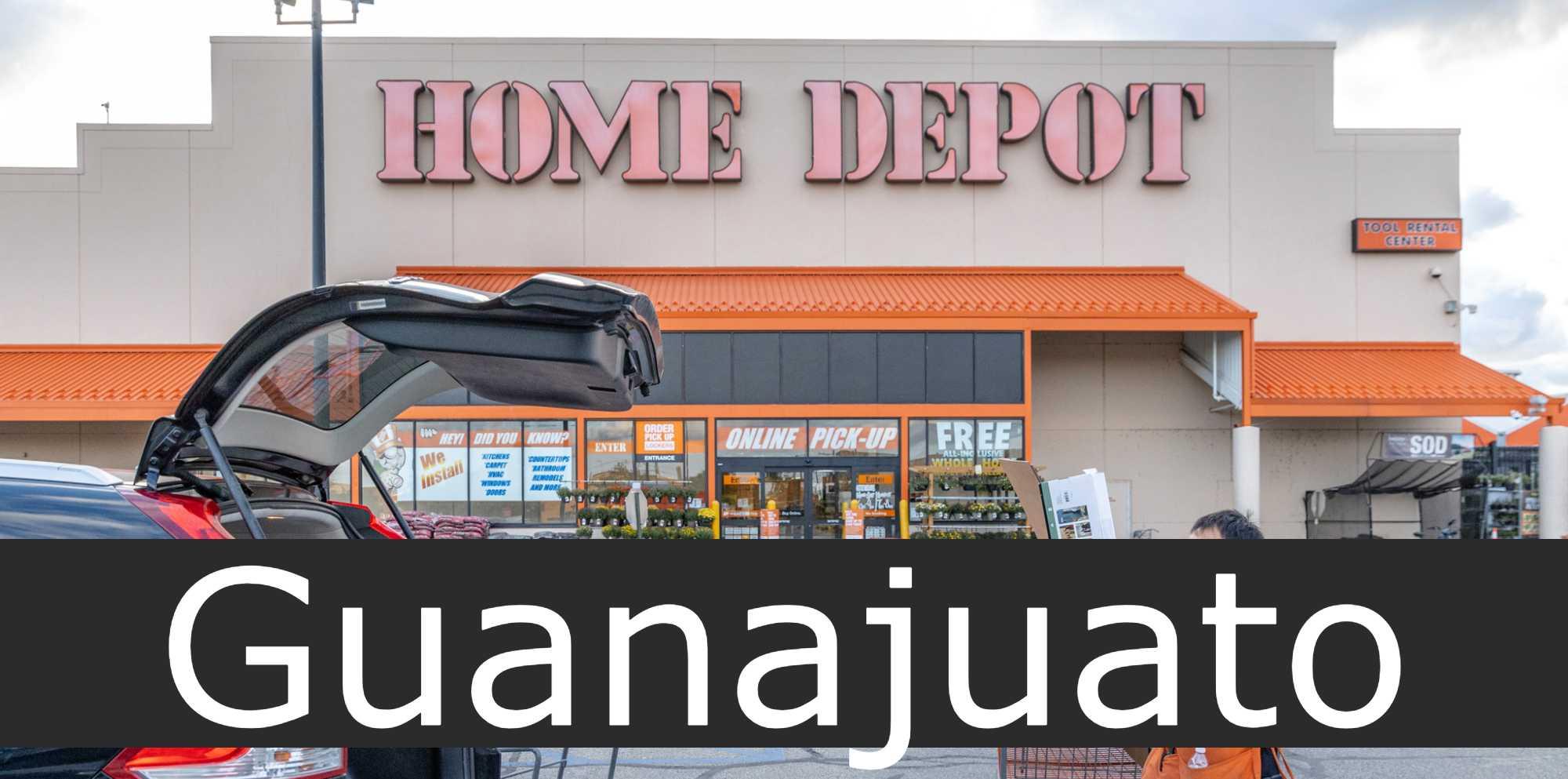 home depot Guanajuato