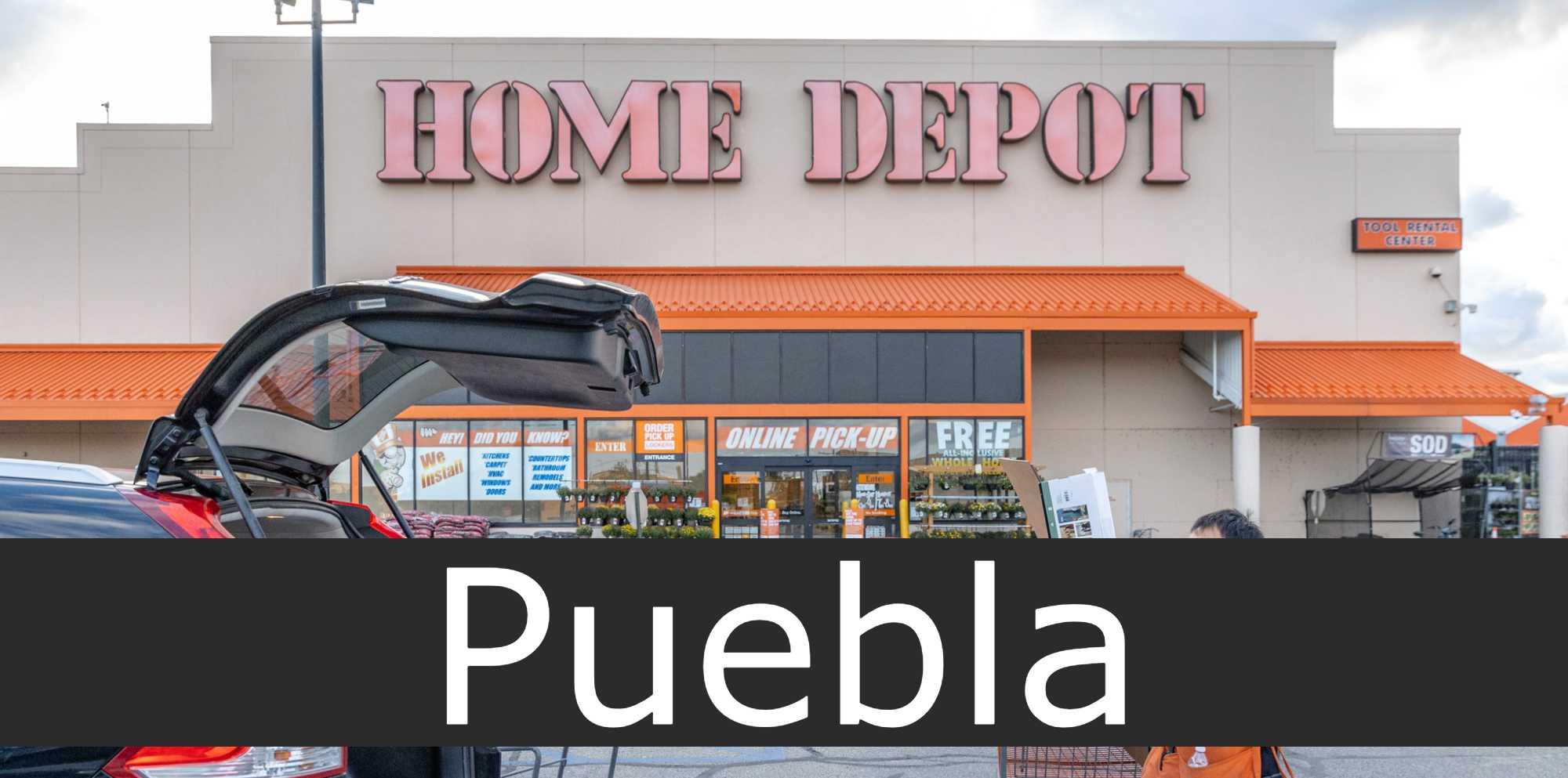home depot Puebla